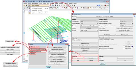 CYPE 3D. Opciones de cálculo de Pilares