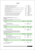 CYPECAD. Criterios de diseño por sismo en vigas de hormigón