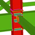Ligações soldadas para pórticos de edificação com perfis laminados e compostos em duplo T