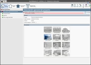 Open BIM Memorias CTE. Tipología de los proyectos generados